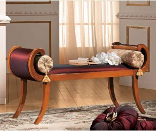 Camel Group Siena Cherry Finish Bench