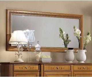 Camel Group Siena Cherry Finish Large Wall Mirror
