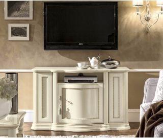 Camel Group Torriani Ivory Finish Mini TV Cabinet