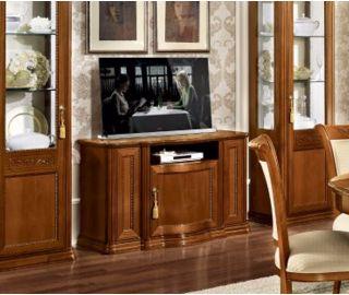 Camel Group Torriani Walnut Finish Mini TV Cabinet