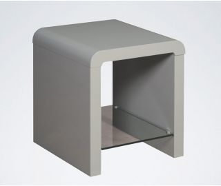 Annaghmore Clarus Grey End Table
