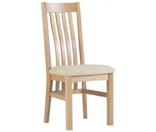 Corndell Nimbus Slatted Dining Chair in Pair
