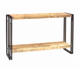 Indian Hub Cosmo Industrial Console Table