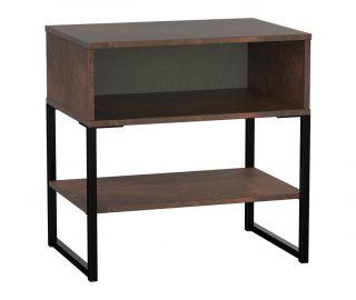 Welcome Furniture Diego Copper Finish Single Open Locker