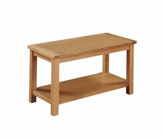 Annaghmore Hartford City Oak Coffee Table