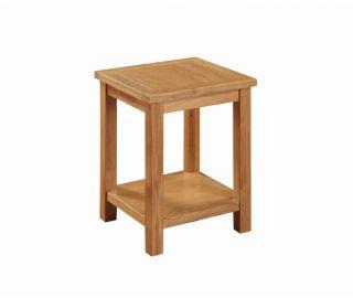 Annaghmore Hartford City Oak End Table
