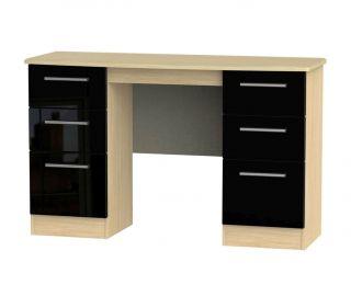 Welcome Furniture Knightsbridge 6 Drawer Kneehole Unit