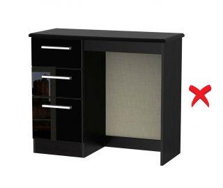 Welcome Furniture Knightsbridge 3 Drawer Vanity Unit
