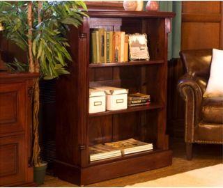 Baumhaus La Roque Mahogany Low Open Bookcase