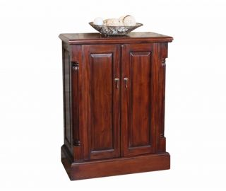 Baumhaus La Roque Mahogany Shoe Storage Cupboard