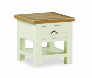 Global Home Suffolk Lamp Table with Drawer