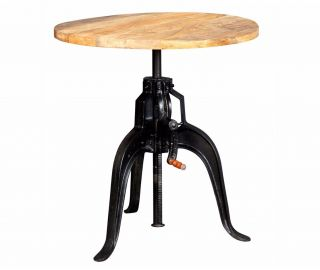 Indian Hub Cosmo Industrial Crank Large Table