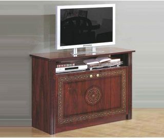 MCS Pamela Walnut Finish TV Cabinet