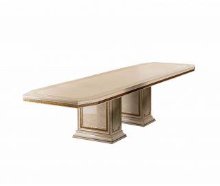 Arredoclassic Leonardo Italian Rectangular Extension Dining Table