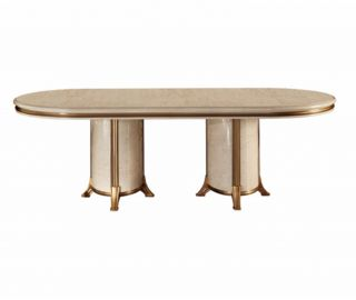 Arredoclassic Melodia Italian Oval Extension Dining Table