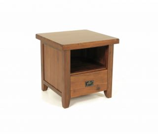 Annaghmore Roscrea End Table with Drawer
