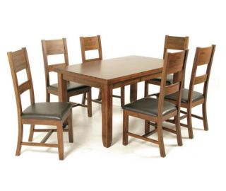 Annaghmore Roscrea Large Butterfly Extension Dining Set