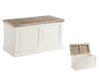 Annaghmore Santorini Painted Blanket Box