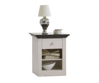 Steens Monaco Solid Pine 1 Drawer Bedside Cabinet