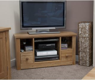Homestyle GB Torino Oak Corner TV Unit