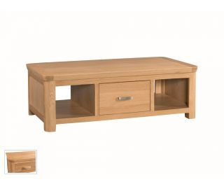Annaghmore Treviso Large Coffee Table with Drawer