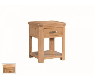 Annaghmore Treviso End Table with Drawer