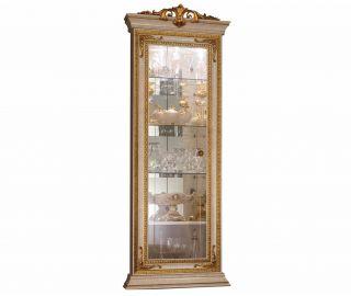 Arredoclassic Leonardo Italian Corner Display Cabinet