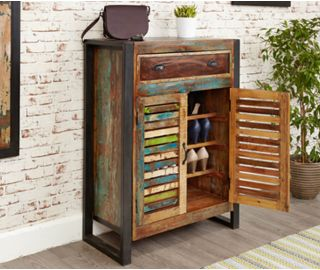 Baumhaus Urban Chic Shoe Storage Cupboard