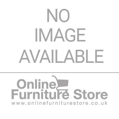 Birlea Furniture Paddington White and Pink Cabin Bed