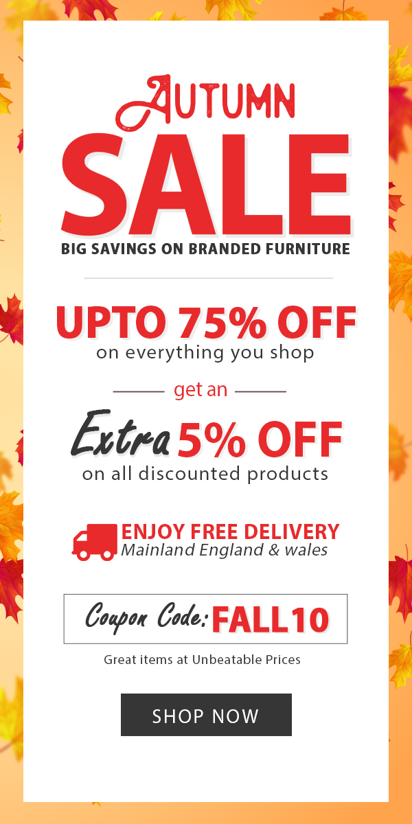 Autumn Sale Save Upto 75% Off + Get Extra 5% Off