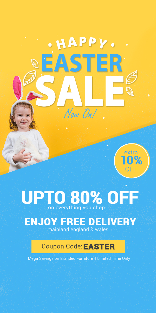 Easter Sale Save Upto 50% Off + Get Extra 5% Off