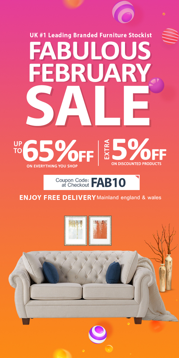 Fabulous February Sale Save Upto 65% Off + Get Extra 5% Off