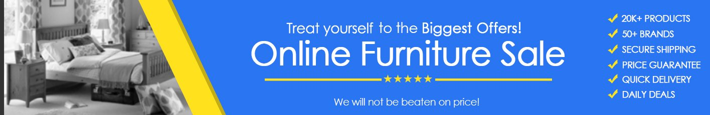 Online Furniture Store Offer
