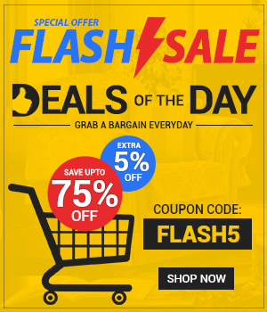 Flash Sale Deals of the Day on Bedrooms Furniture