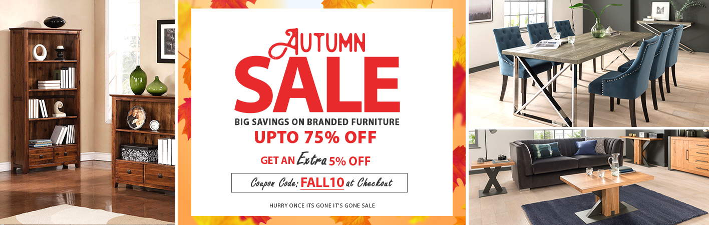 Autumn Sale at Online Furniture Store
