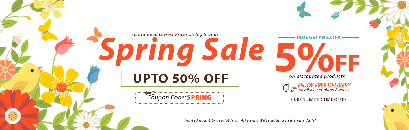 Spring Sale at Online Furniture Store