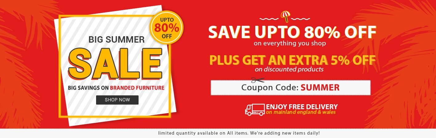 Summer Sale at Online Furniture Store